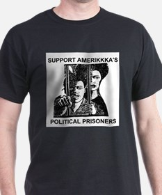Support Amerikkka's Political Prisoners T-Shirt