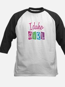 IDAHO GIRL! Kids Baseball Jersey