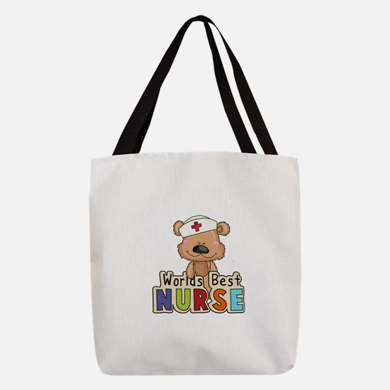 The World's Best Nurse Polyester Tote Bag