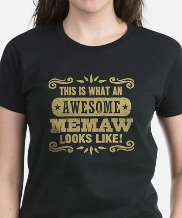 Awesome MeMaw Tee