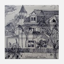 Southernmost House - Key West, Fla. Tile Coaster