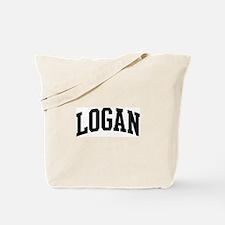 LOGAN (curve) Tote Bag