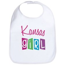 KANSAS GIRL! Bib