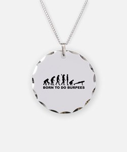 Evolution born to burpees Necklace