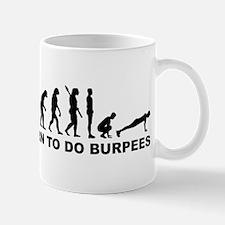Evolution born to burpees Mug