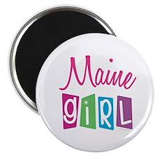 """MAINE GIRL! 2.25"""" Magnet (100 pack)"""