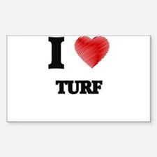 I love Turf Decal