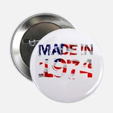 Made In USA 1974 Button