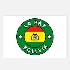 La Paz Bolivia Postcards (Package of 8)