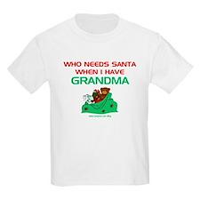 Santa Grandma T-Shirt