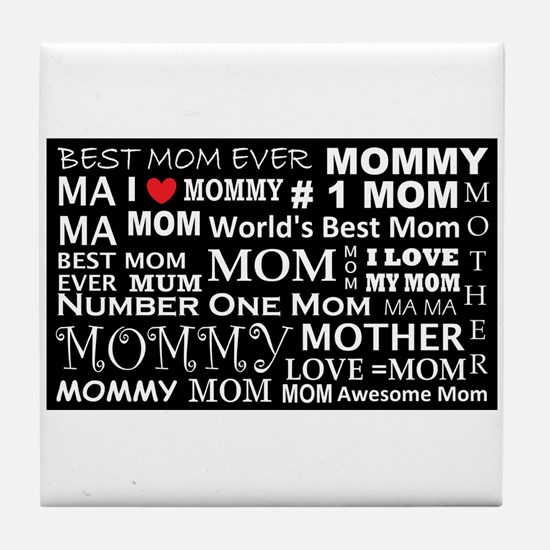 Cute Awesome grandma Tile Coaster