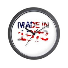 Made In USA 1973 Wall Clock