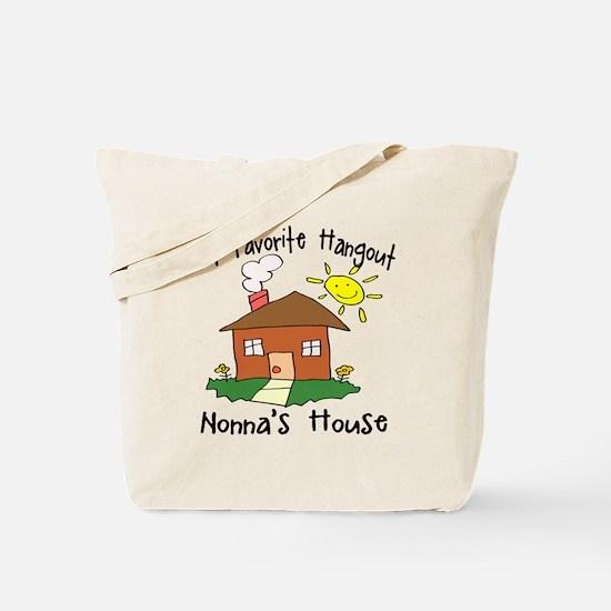 Favorite Hangout Nonna's House Tote Bag