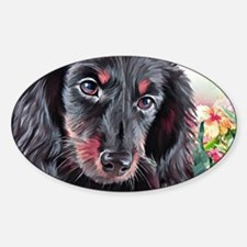 Dachshund Painting Decal