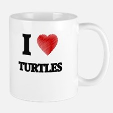 I love Turtles Mugs