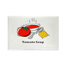 Tomato Soup Rectangle Magnet