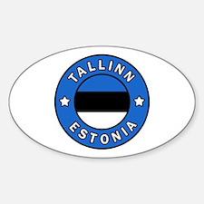 Cute Eesti vabariik Sticker (Oval)