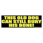 This Old Dog Bumper Sticker