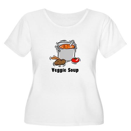 Veggie Soup Women's Plus Size Scoop Neck T-Shirt