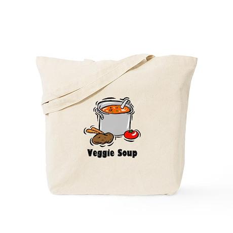 Veggie Soup Tote Bag