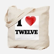 Cute Twelve Tote Bag