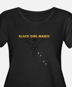Black Girl Magic Plus Size T-Shirt