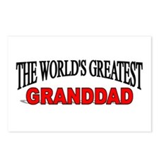 """""""The World's Greatest Granddad"""" Postcards (Package"""