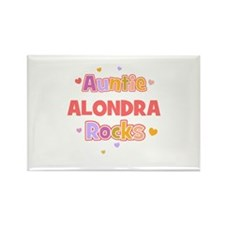 Alondra Rectangle Magnet