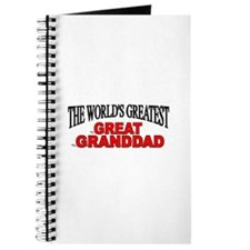 """""""The World's Greatest Great Granddad"""" Journal"""