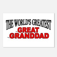 """The World's Greatest Great Granddad"" Postcards (P"