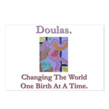 Doulas Change The World Postcards (Package of 8)