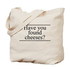 Found Cheeses Tote Bag