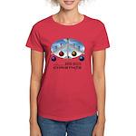 Bomb Diggity Christmas Women's Red T-Shirt