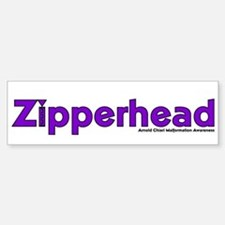 Zipperhead Bumper Bumper Bumper Sticker