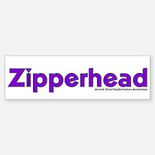 Zipperhead Bumper Car Car Sticker