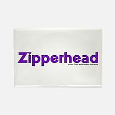 Zipperhead Rectangle Magnet