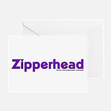 Zipperhead Greeting Card
