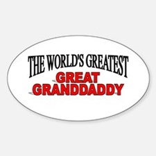 """""""The World's Greatest Great Granddaddy"""" Decal"""