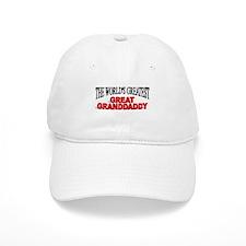 """The World's Greatest Great Granddaddy"" Baseball Cap"