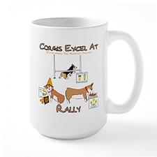 Corgis Excel at Rally Mugs