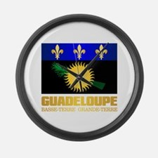 Guadeloupe Large Wall Clock