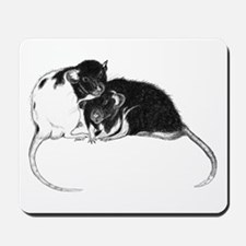 Truckle and Hamish Mousepad
