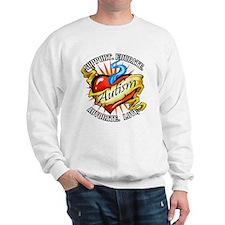 Autism Classic Tattoo Sweatshirt