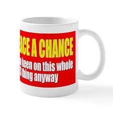 Give Peace a Chance - Gay Rights Mug