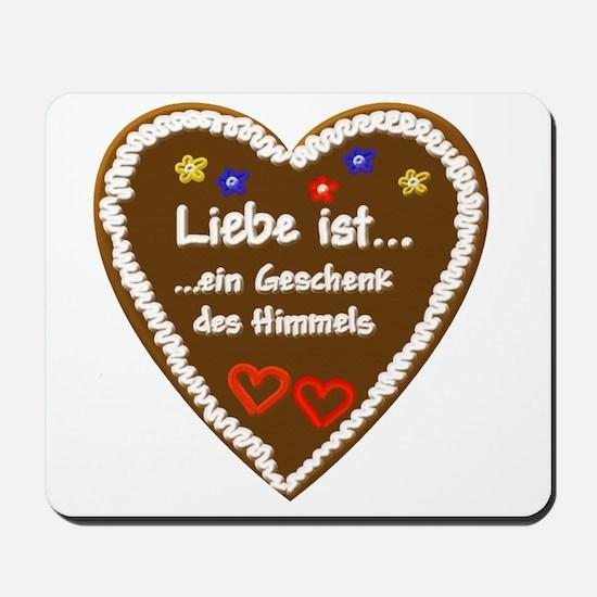 Liebe ist... 5 Mousepad