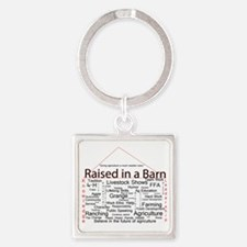 Cute Agriculture Square Keychain