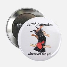 CBlk CenterOfAttention Great Dane Button