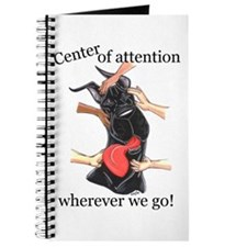 CBlk CenterOfAttention Great Dane Notepad