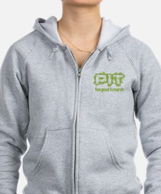 Pit: Too Good to March Zip Hoodie