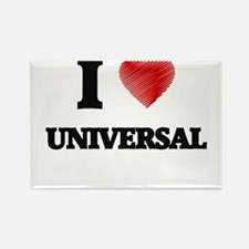 I love Universal Magnets